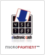 Micropayment Lastschrift electronic cash