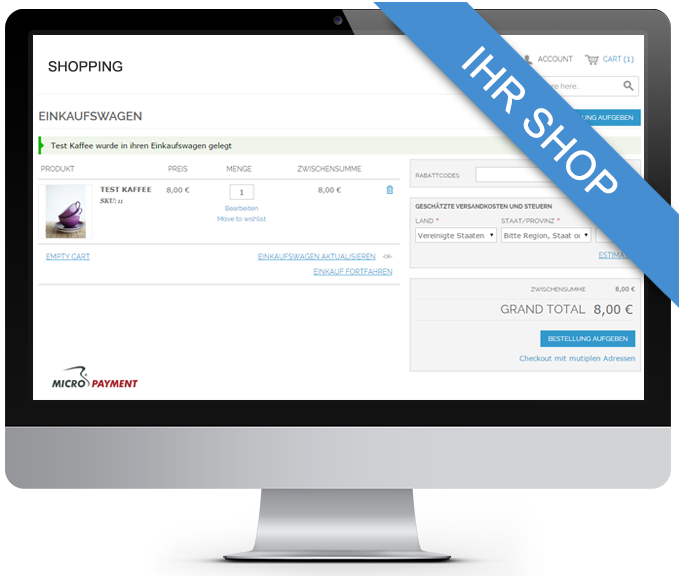 modified eCommerce Webshop Plugin