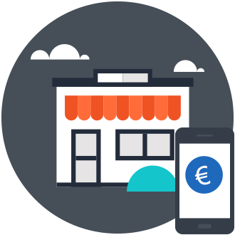 Payment am Point of Sale (POS) z.B. im Supermarkt