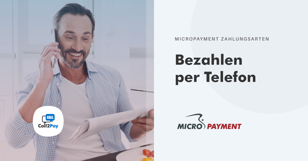 Per Anruf Bezahlen