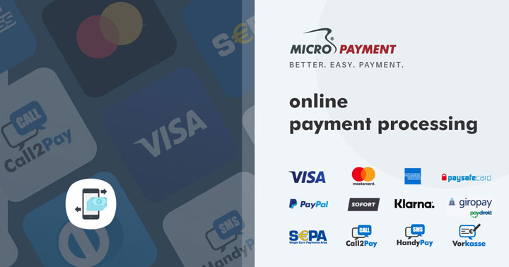Payment methods Micropayment
